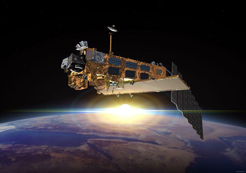 Satellites et réchauffement climatique